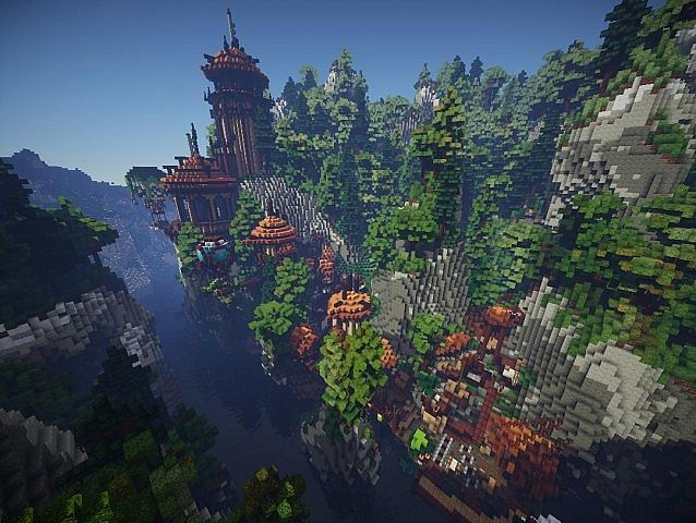 Most Awesome Asian Minecraft Build