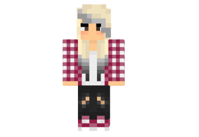 Cool emo girl skin minecraft - Cool girl skins for minecraft pe ...